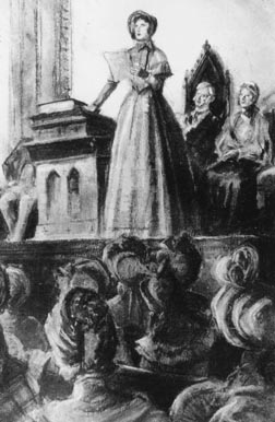 seneca falls convention The american women's rights movement began with a meeting of reformers in seneca falls, new york, in 1848 out of that first convention came a.