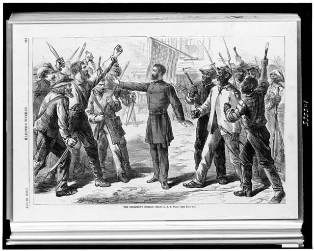 the the problems that the american nation had to face during the civil war and after it